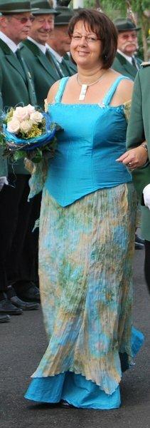 Schützenfest Samstag Abend - Kleid Nr. 1 - Oberteil und Rock nach Burda Schnitt