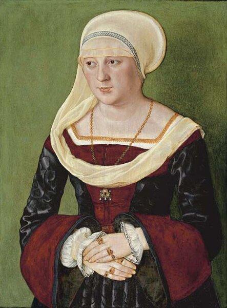 1528_Beham_Barthel_Portrait_of_Anna_Scheit_nee_Mem_m_inger_oil_on_panel