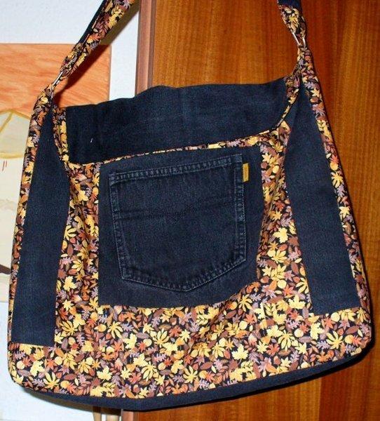 Tasche aus alter Jeanshose