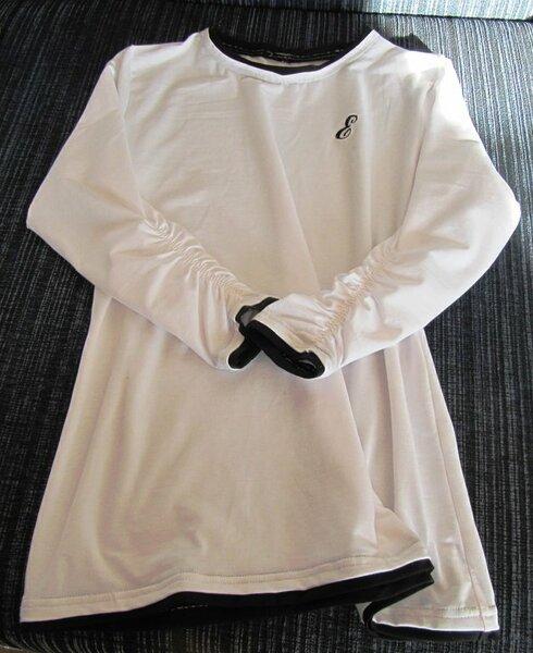 Shirt weiss-schwarz