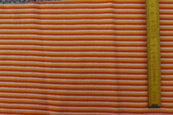 J4: Bündchen Streifen orange Eigentümer: *dummy* Reservierung: Maline 85 x 15 => 0,13 m²