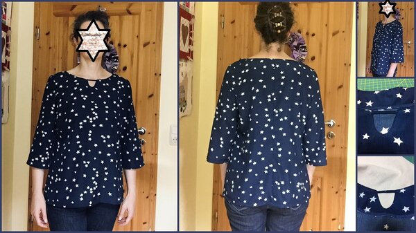 Tunika New Look 6949/Modell 23 Meine Nähmode 6/2012