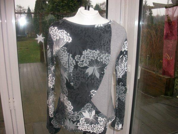 Jerseyshirt nach dem Schnitt Bertina von Farbenmix