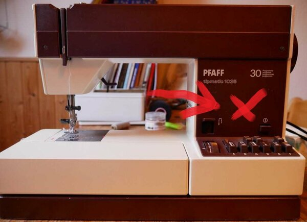 Pfaff Tipmatic 1035