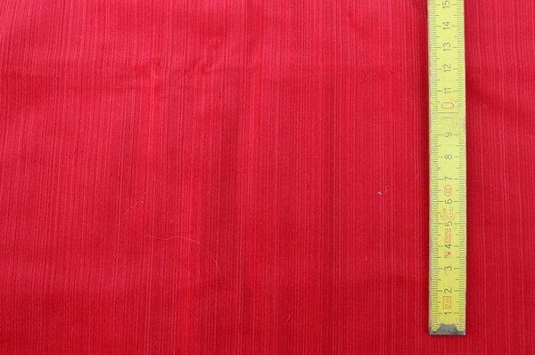 L2: Stretch-Feincord knallrot Eigentümer: *dummy* Reservierung: Liabell 140 x 153 => 2,14 m²