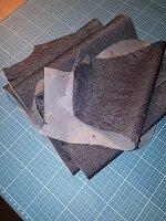 T Shirt silber