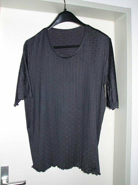 1. Jersey Shirt nach Schnittmuster