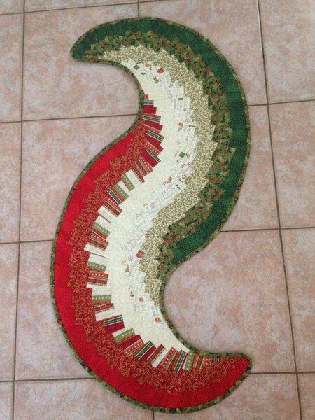 Weihnachtlicher Spicy Table Runner