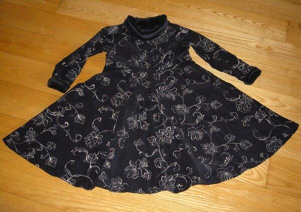 Cord-Kleid