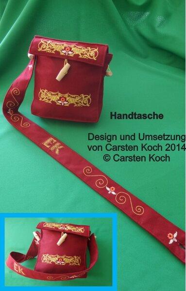 Handtasche für meine Tochter, inspiriert für ein Mittelalterfest;