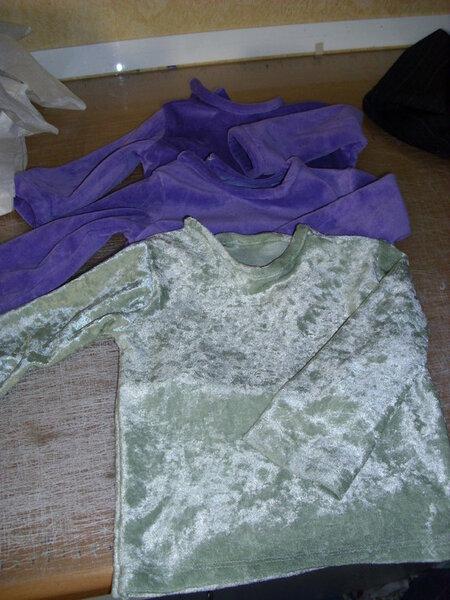 3 Baby-Shirts nach Ottobré, Recycling