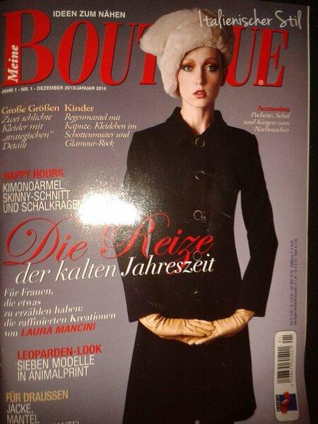 Boutique deutsch Dezember 13/Januar 14 Bögen noch eingeheftet 3,50 €