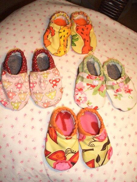 Babyschühchen für Mädchen