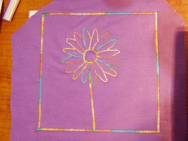 Appli Blume Multicolor