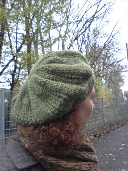 Grüne Welle: Eine Baskenmütze