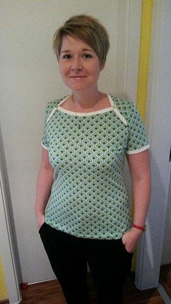 T-Shirt Bronte nach einem Ebook von Jennifer Lauren