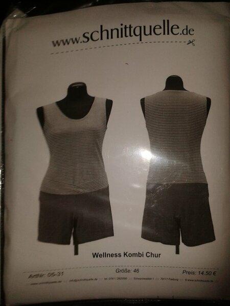 "Schnittquelle ""Wellnesskombi Chur""  Gr. 46 9,00 €"