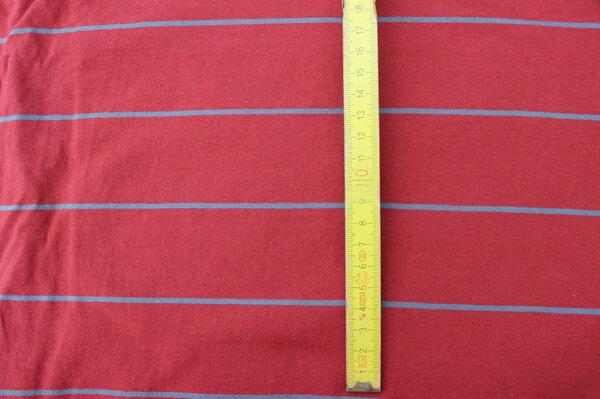 K7: Sanetta Jersey rot-grau Eigentümer: littlelursa Reservierung: mcmopel 140 x 100 => 1,40 m²