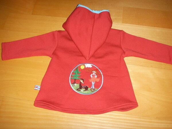 Zwergenverpackung Pulli mit Milli Zwergenschön Rückseite