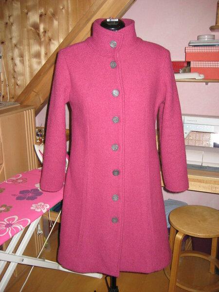 Meiner 1. Mantel nach einem Schnitt vom Hollandmarkt.