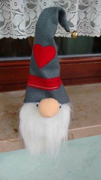 Deko Wichtel aus dem Buch Nähen für die Weihnachtszeit