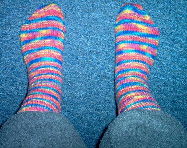 MEINE ;) Socken sind fertig