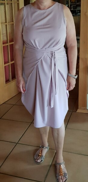 Kielo Wrap Dress kurz