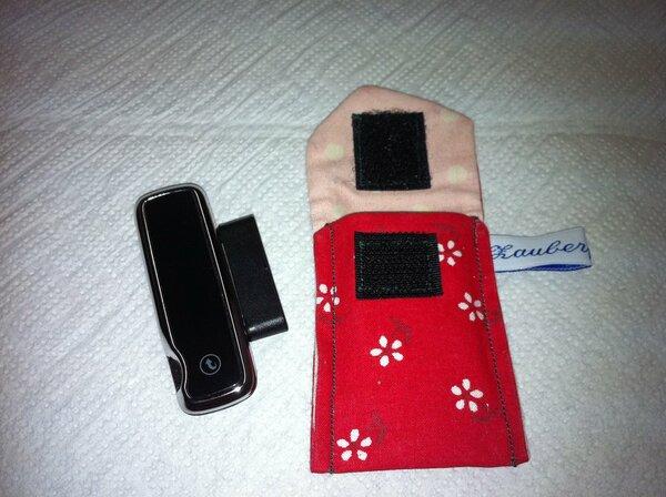 Mini-Schlüsselanhänger für mein Blutzuckermessgerät.