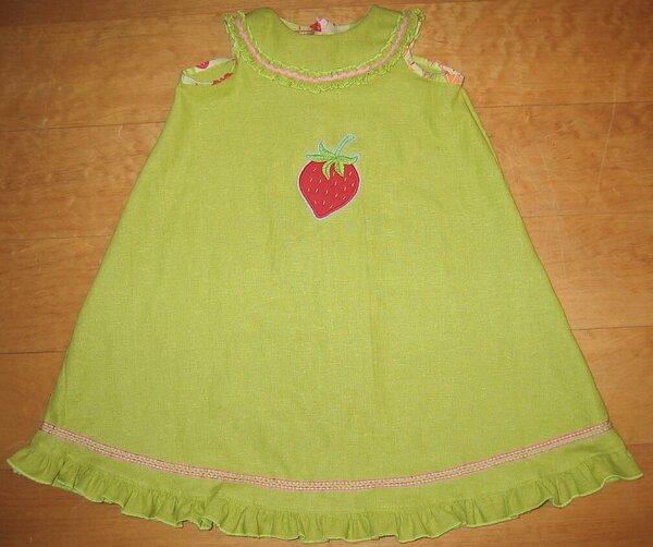 Erdbeer-Kleid