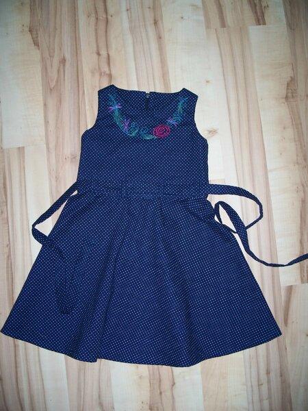 Libellenkleid dunkelblau