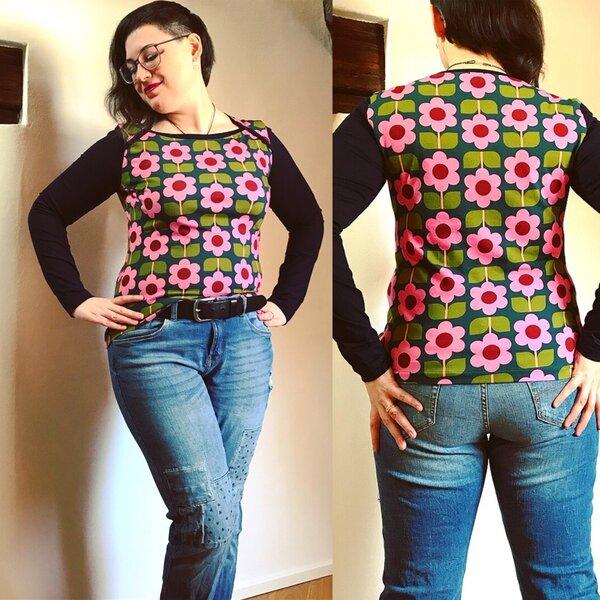 Bronte Shirt von Jennifer Lauren Handmade
