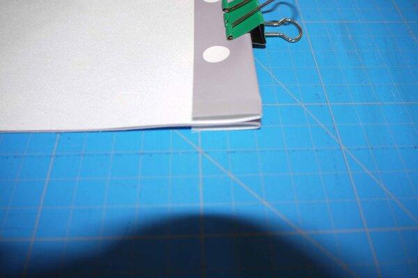 3-Nähte-Tasche in Einzelschritten