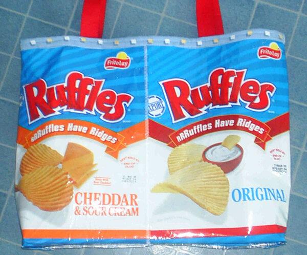 Chipstüten-Tasche