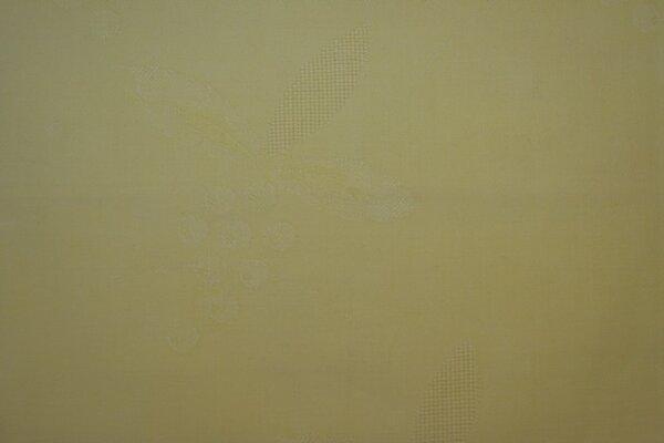 13. hellgelbe BW mit eingewebtem Traubenmuster - 2:1 - 0,70m x 1,20m