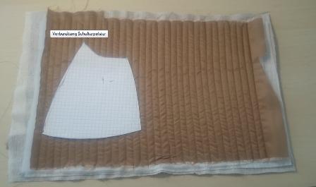 Erstellung Schulterpolster