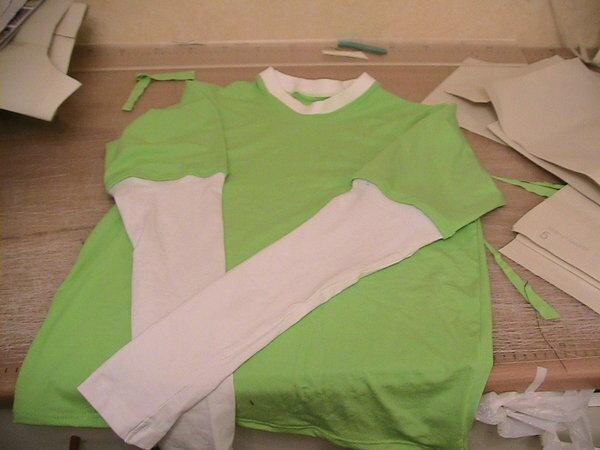 Shirt Gr. 164, Schnitt GP mit angesetzten Ärmeln