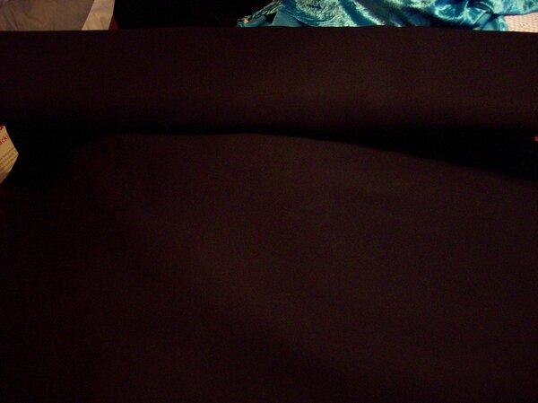 Polyester schwarz
