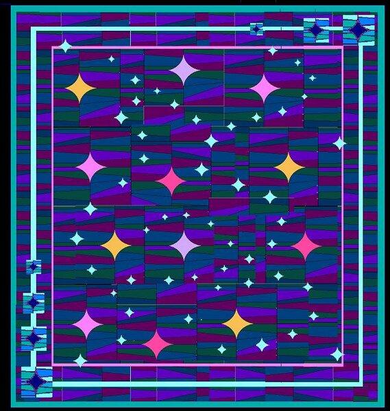 """""""Starfield Simulation"""" Entwurf für die SWAP-Blöcke"""