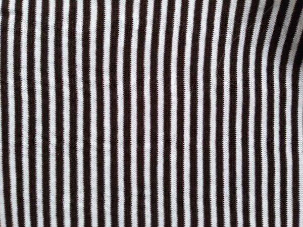 Strickbündchen schwarz/weiß  0,40 x 2,00 m