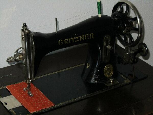 Gritzner V Tretnähmaschine von Oma