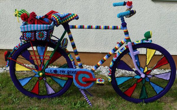 Fahrrad Blau 01