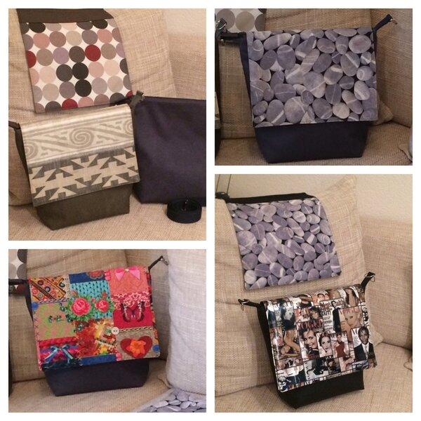 Taschen mit Wechselklappe