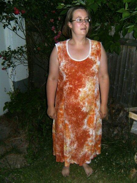 Svea als Kleid