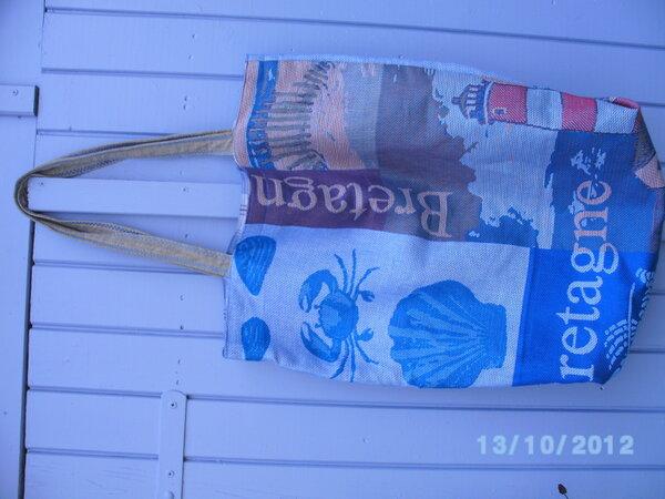 3-Nähte-Tasche