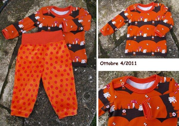 Babyhose und Jerseyshirt, Ottobre 4/2011