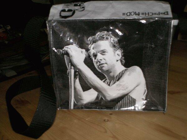 Eine Tasche für mein Depeche Mode Konzert