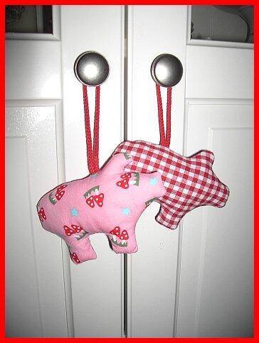 Glücksschweinchen zum Jahreswechsel