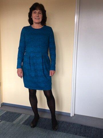 Blaues Kleid Chloe