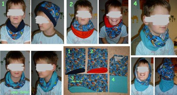 Buff-Schals und Loop