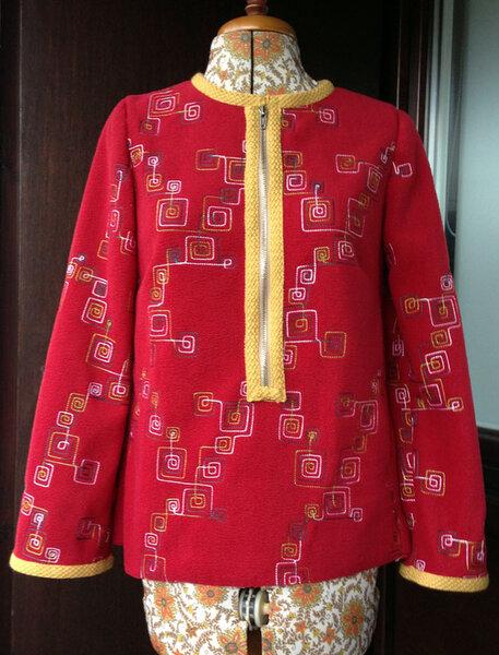 Shirt #120, Burda 12/2012